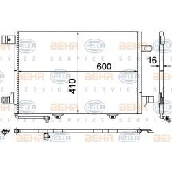 Condensador MB A-/B-CL. (W169/W245)